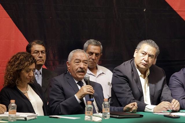 CTM de Puebla se ampara contra la reforma laboral