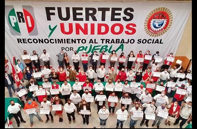 CTM y PRI cierran filas frente a los comicios del 2021 en Puebla