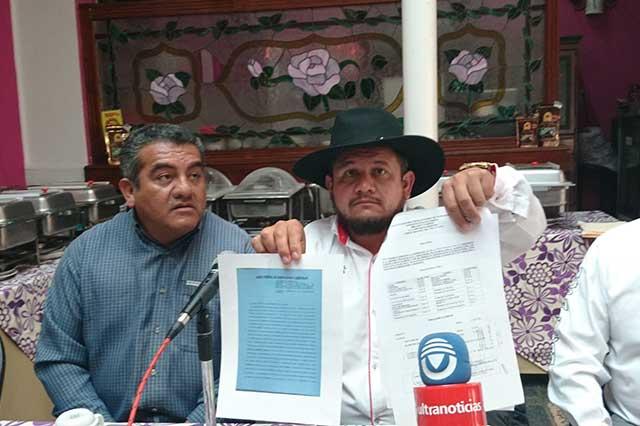 Dirigente de CTM denuncia amenazas de Leobardo Soto por obra carretera