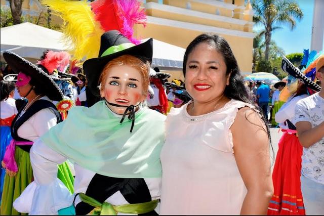 Familias disfrutaron Encuentro de Cuadrillas Cuautlancingo 2020