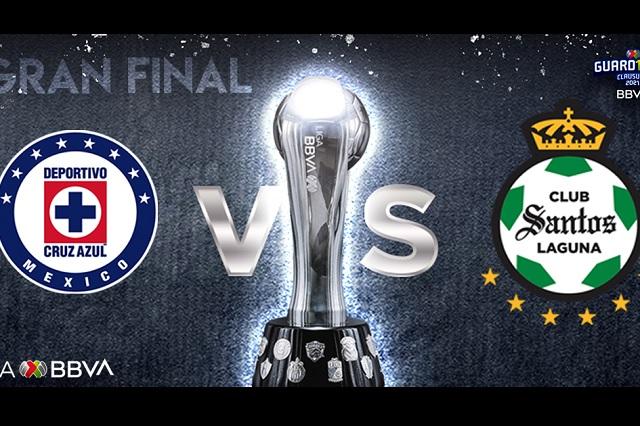Final Liga MX: Definen fechas y horarios para el Cruz Azul-Santos