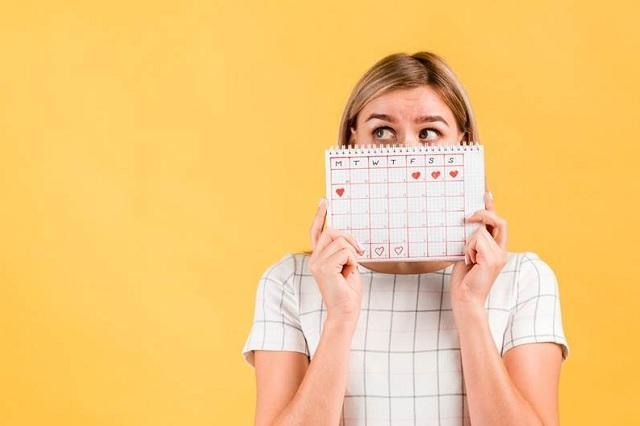 La cuarentena también podría alterar el ciclo menstrual