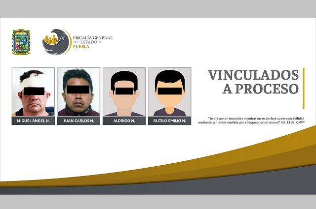 Cuatro vinculados a proceso por violencia familiar en Puebla