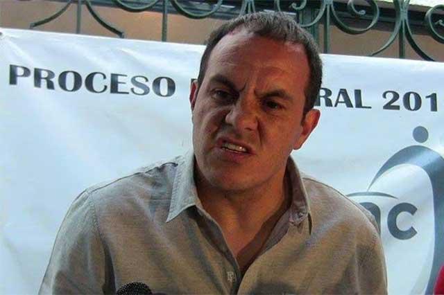Resultado de imagen para Tribunal de Morelos ordena destituir a Cuauhtémoc Blanco