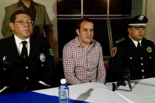 Denuncia Graco que El Cuau se rodeó de gente de Guerreros Unidos