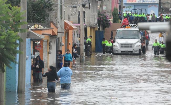 Segob declara emergencia en Cuautitlán Izcalli por inundación