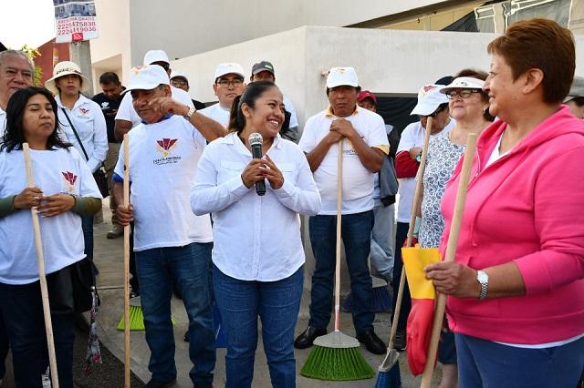 Realizan Jornadas de Limpieza en Cuautlancingo