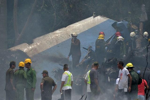 Era mexicana la tripulación del avión que se estrelló en Cuba