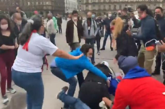 Video: A golpes se enfrentan cubanos y mexicanos en CDMX