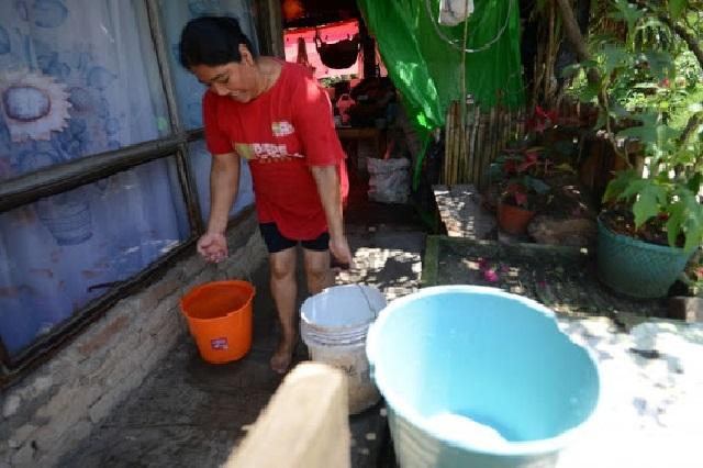En contingencia y sin agua potable, 50 mil poblanos