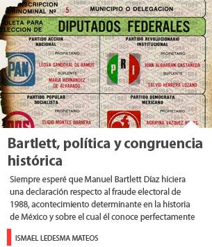 Bartlett, política y congruencia histórica