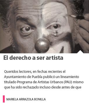 El derecho a ser artista