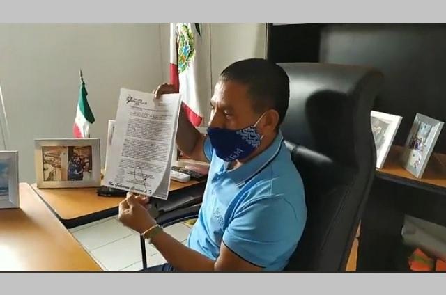 Va multa por no usar cubrebocas en San José Miahuatlán