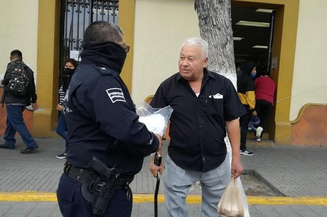 Es obligatorio desde el 7 de diciembre uso de cubrebocas en Tehuacán