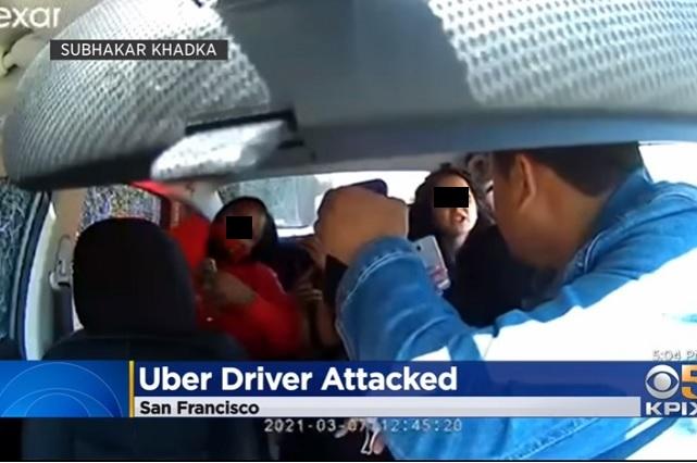 Pasajeras agreden a conductor de Uber por cubrebocas y hasta le tosen
