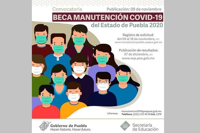 Por Covid-19 apoya gobierno estatal a alumnos universitarios