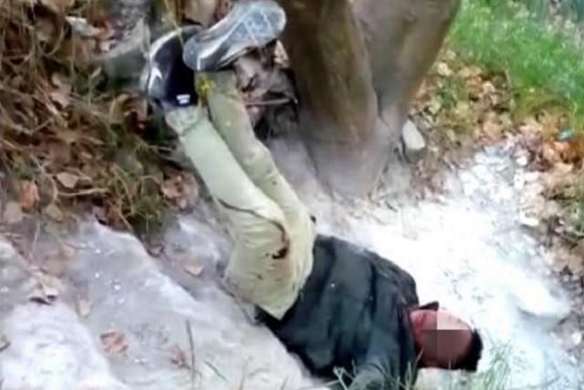 Cuelgan como piñata a presunto ladrón en la México 83