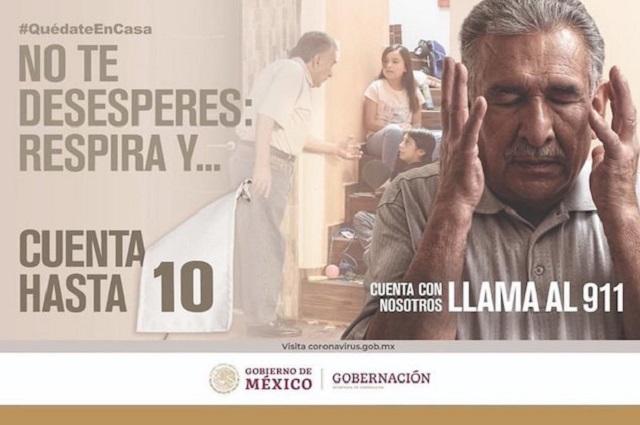 """Rechazan campaña """"Cuenta hasta 10"""" para frenar la violencia contra las mujeres"""