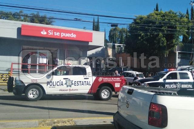 Cliente armado evitó asalto en Santander de Zavaleta