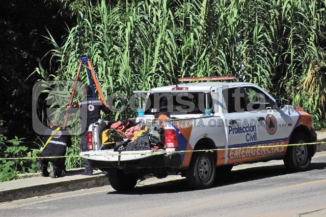 Hallan cuerpo desmembrado en barranca de San José Los Cerritos
