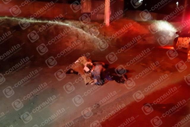 Hallan 4 cuerpos maniatados y encobijados en la Puebla-Tlaxcala