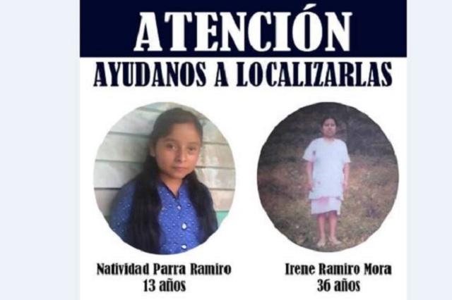 Hallan en Zacapoaxtla cuerpos de madre e hija desaparecidas