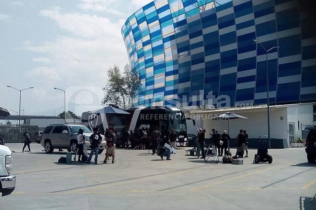 Club de Cuervos arranca rodaje en Puebla