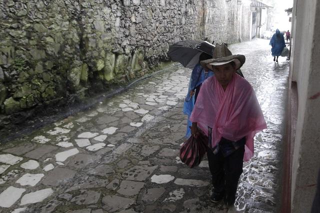 Sólo Huauchinango desaloja casas ante llegada de Franklin