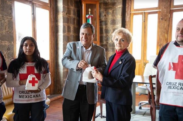 Arranca en Zacatlán colecta anual de Cruz Roja #AyudarNosMueve