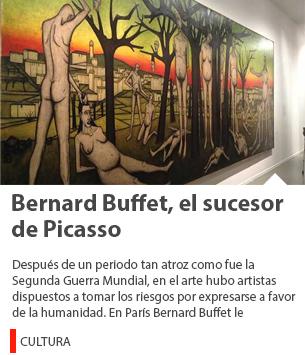 Bernard Buffet, el sucesor de Picasso