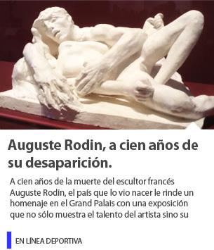 Auguste Rodin, a cien años de su desaparición.