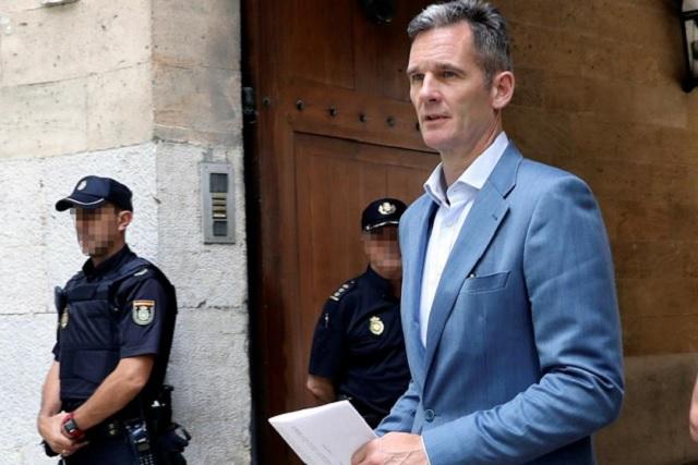 Encarcelan al cuñado del rey Felipe VI por malversación y delitos fiscales