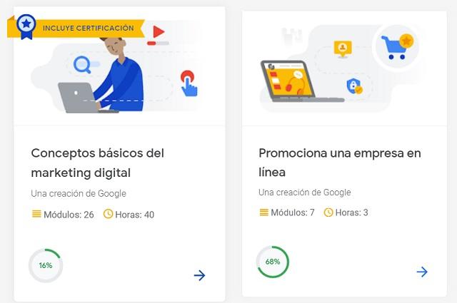 5 cursos de Google que puedes tomar gratis y en línea