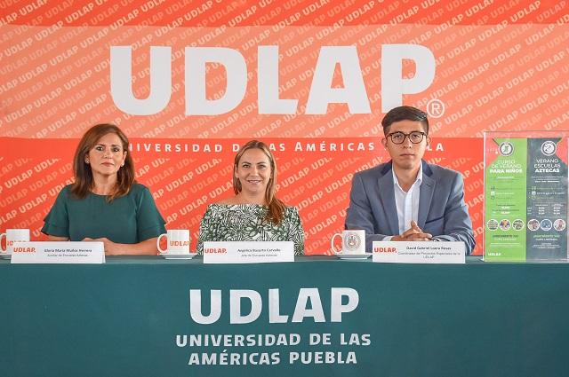 UDLAP y Escuelas Aztecas invitan al Curso de Verano 2019