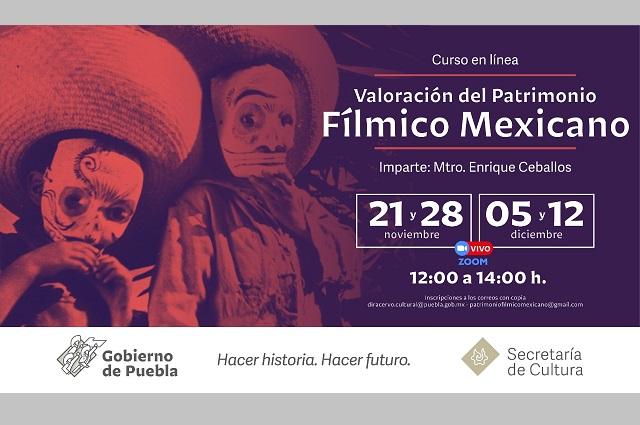 Ofrecen Curso de Patrimonio Fílmico Mexicano, en línea