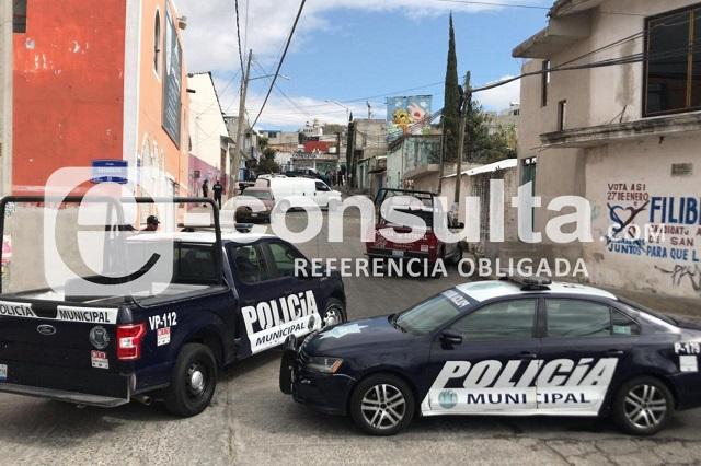 En Xochimehuacán hallan restos humanos en bolsas