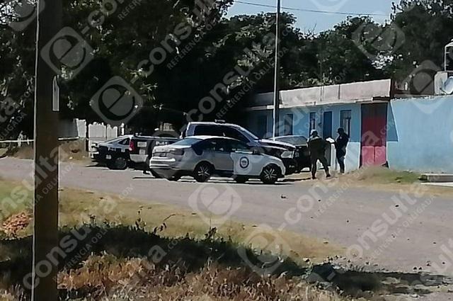 Ultiman a balazos a hombre frente a su casa en Atlixco