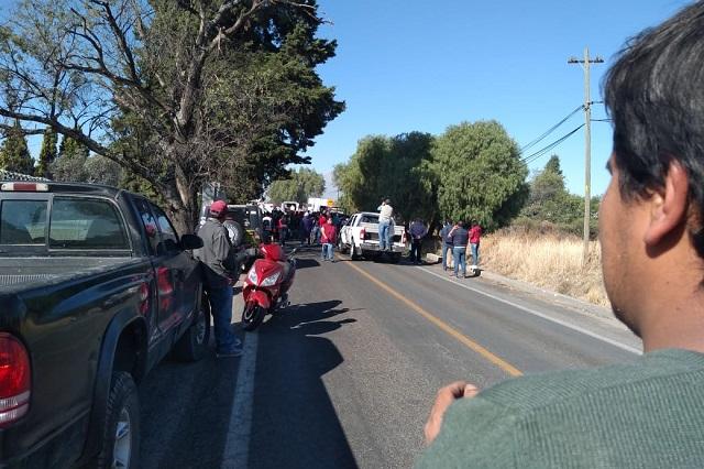 Pánico por fuga de amoníaco en límites de Puebla y Tlaxcala