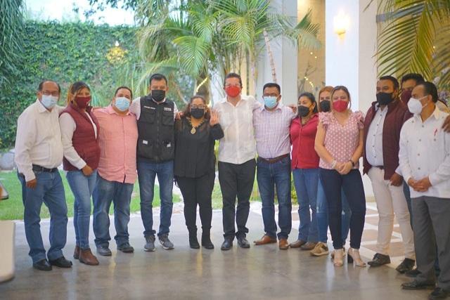 Julio Lorenzini cierra campaña con respaldo de dirigentes de Morena