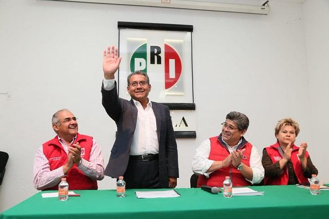 No soy candidato del PRI para un segundo lugar: Jiménez Merino