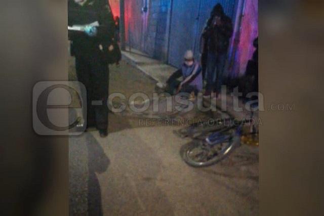 Muere ciclista arrollado por auto en la Guadalupe Hidalgo