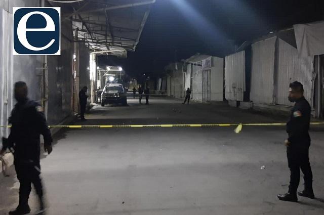 Matan a balazos a vigilante en Tianguis de Texmelucan