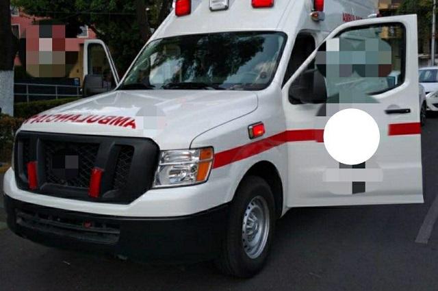 Presos, 2 paramédicos de Texmelucan por acarrear droga
