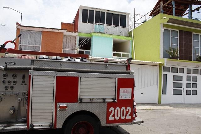 Fuga de gas deja heridos y daños en casa de Bosques del Pilar