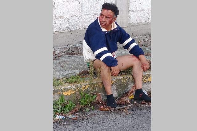 Golpean en Viveros Del Valle a presunto ladrón de bicicletas