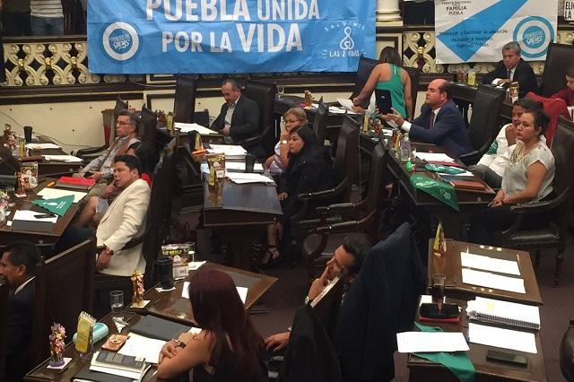 Enfrenta al Congreso de Puebla iniciativa para despenalizar aborto