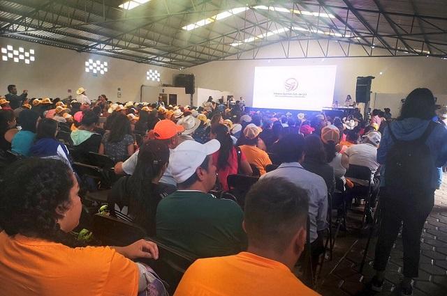 Chocan en asamblea rumbo a consulta para mina en Ixtacamaxtitlán
