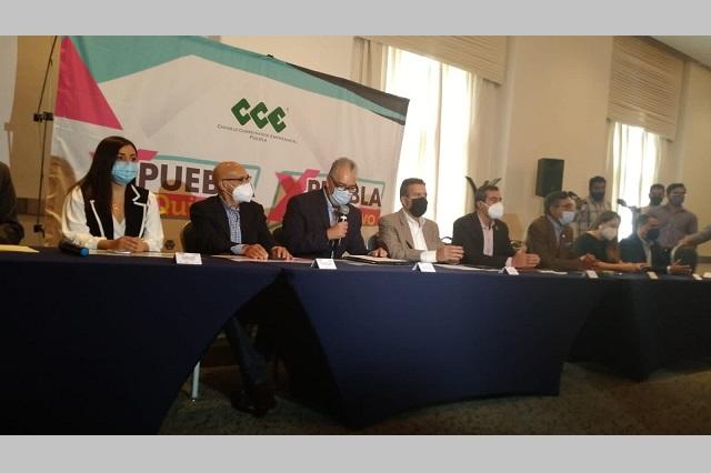 Anuncia CCE acciones para promover que poblanos voten