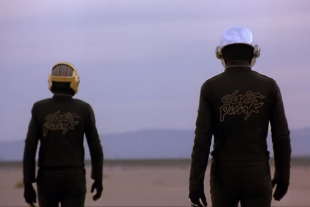 Foto YouTube Daft Punk
