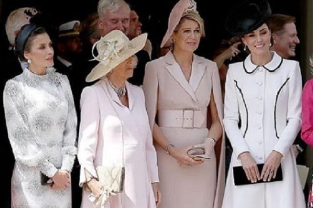 Kate, Letizia, Máxima y sus hermosos vestidos